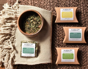 SAMPLE | ORGANIC Tea | Choose any of our Teas | Loose Leaf or Tea Bags | Black Green Oolong White Pu'erh | Eco-Friendly
