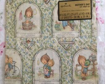 Vintage Hallmark Mother's Day Gift Wrap