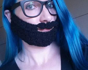 Black Beard Face Warmer!