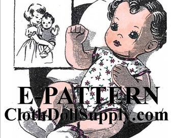 E-Pattern – Bonnie Baby Doll Sewing Pattern #EP 2999