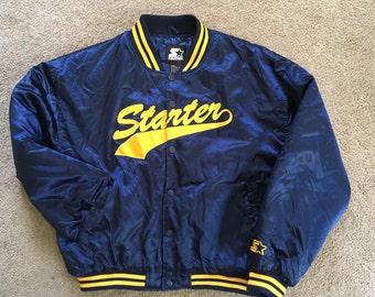 Starter varsity jacket