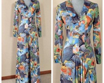 Groovy vintage 60's/70's dress