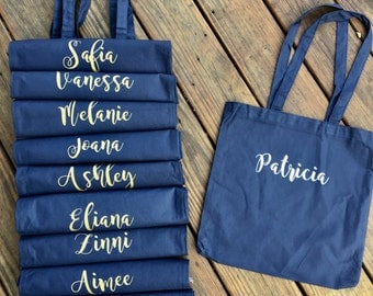 Customized Tote Bags / Bridesmaids