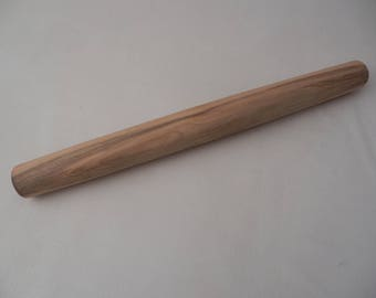 Large Wooden Rolling Pin French Rolling Pin Maple Hand Turned