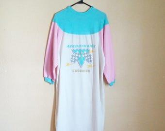 SALE! // 80s Pajama Dress