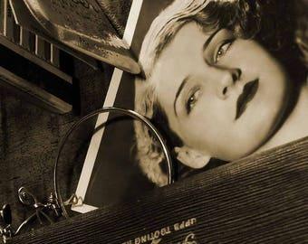 Vintage Style Photograph, Sepia Vintage, Photograph Actress, Old Style Sepia Photograph