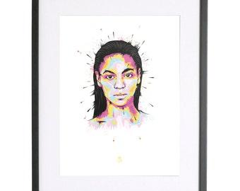 Beyoncé Print