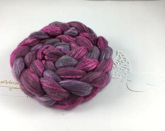Combed tops Merino silk