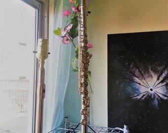 Flute Lamp Pair