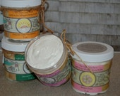 Light as Air Whipped Body Butter, moisturizing body butter, all natural handmade body butter, lots of scents!