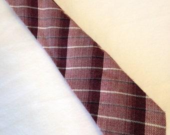 Vintage 60's winter thin necktie