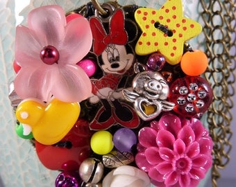MINNIE PENDANT and charms
