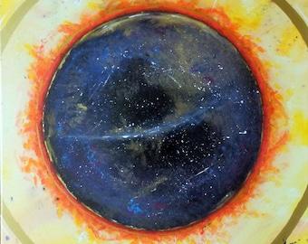 Astra - Acrylic on Canvas