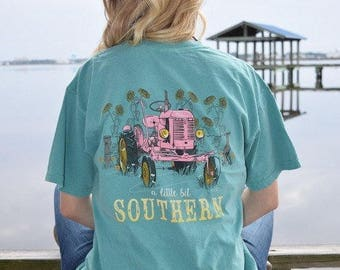 """Anna Grace Tees """"Tractor"""""""