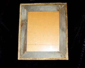 Hand Made Rustic Picture Frames, Made from Reclaimed wood,  Great gift for the Rustic or Americana Collector