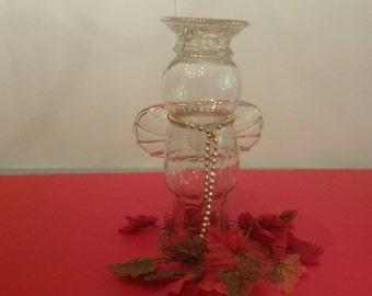 Glass Angel, Garden Art, Christmas Angel, Decoration