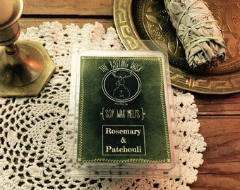 Rosemary and Patchouli Soy Wax Melts