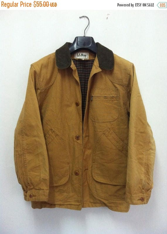 30 Sale Vintage Ll Bean Field Barn Coat Jacket Canvas
