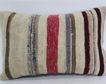 16x24 Throw Pillow Ethnic Pillow Washable Pillow Anatolian Kilim Pillow 16x24 Decorative Kilim Pillow Fllor Pillow Cushion Cover SP4060-420