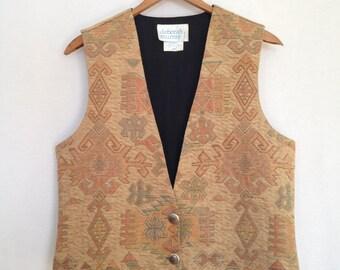 1990s western vest by deborah murray size S