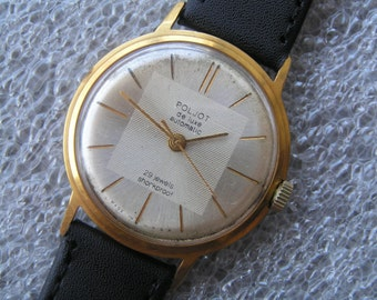 Russian VINTAGE WATCH POLJOT De Luxe Automatic
