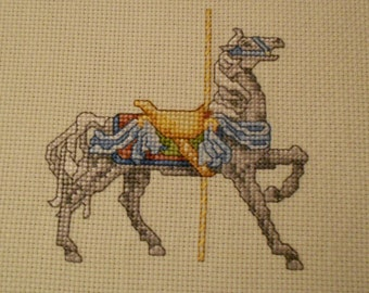 Carousel Horse and Bunny