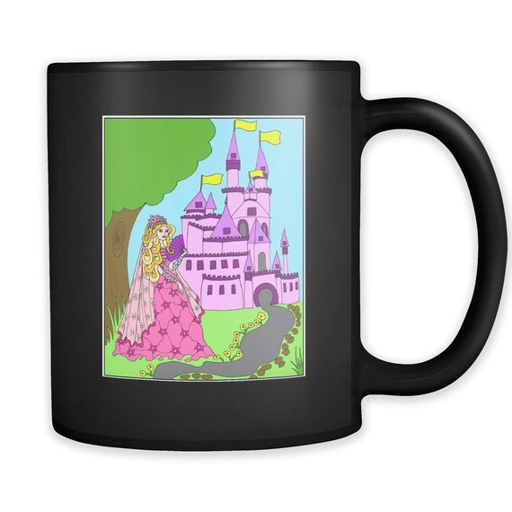 Princess Amber's Castle Coffee Mug Best Gift Ideas For Your Little Princess