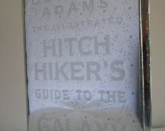 The Illustrated Hitch Hiker's Guide to the Galaxy 1994 large hardback book Douglas Adams