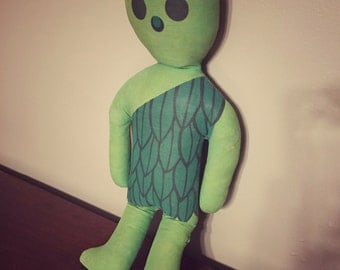 Vintage Jolly Green Giant Doll, Advertising