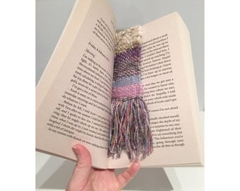 Woven Bookmark | Handmade bookmark | Reading | Handmade gift |