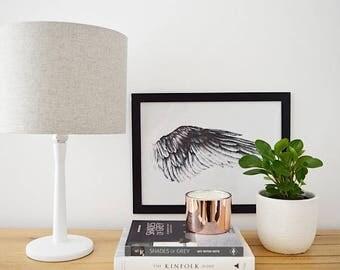 Linen McQueen Handmade Lampshade