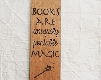 Engraved Quote Bookmark for Reading Lover - Stephen King