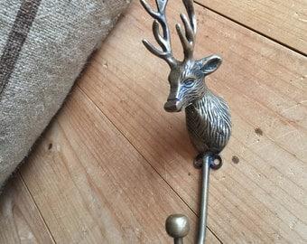 Brass Deer Hook