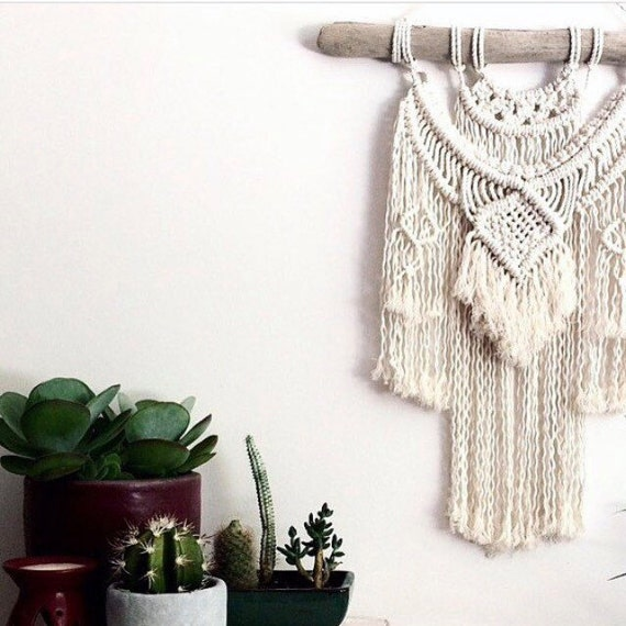 "Advanced Macrame Wall Hanging Pattern ""Jewel"""