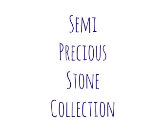 Semi Precious Stone Collection Coasters