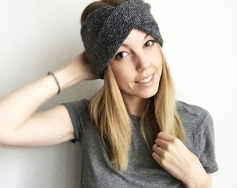 5 Colours! Twisted Knitted Headband - Adelaide  - Womens