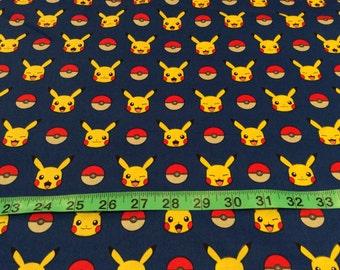 Timeless Treasure Pokemon Go Fabric by the half yard