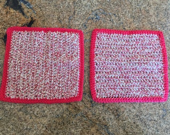 Crochet dishcloth - Set of Two