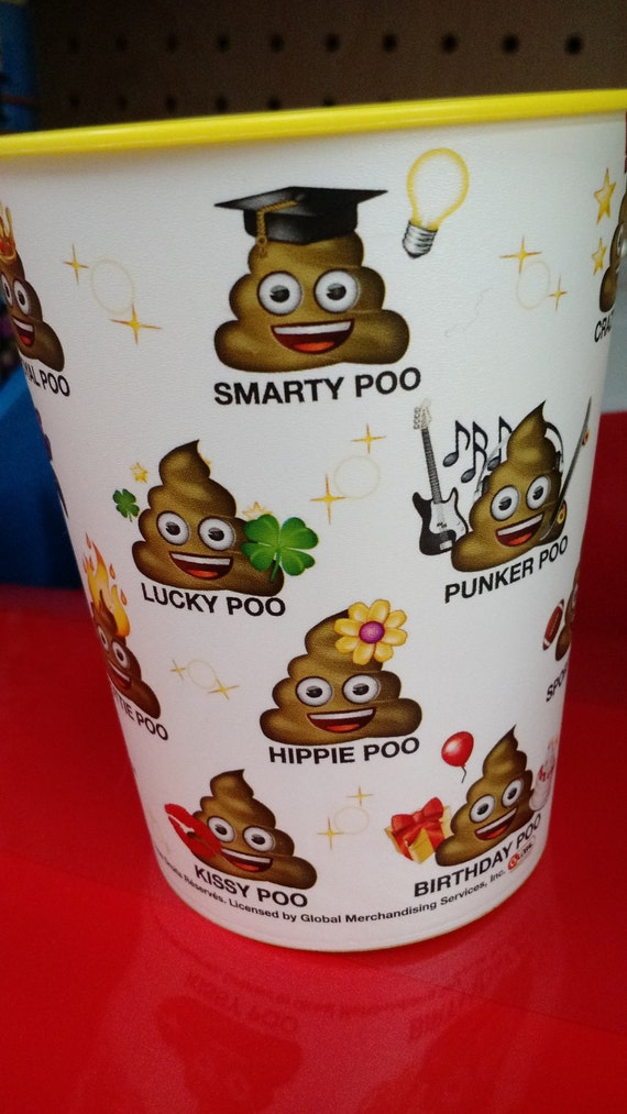 Poo Emoji Party Cup