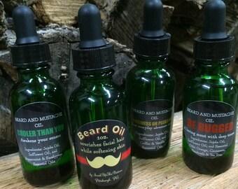 Men's Oil for Beard & Mustache