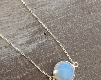 Necklace Opaline