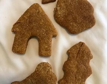 No-Glaze Pumpkin Peanut Butter Biscuits