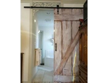 Farmhouse Decor - White Wash Barn Doors
