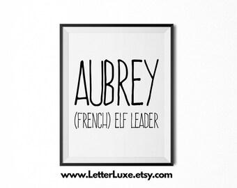 Aubrey | Etsy