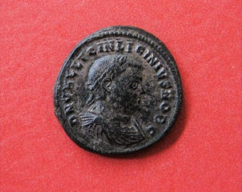 Roman Empire, Silvered Bronze Follis of Licinius II, AD 316-324, Nicomedia Mint