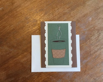 Coffee Rule the World Card