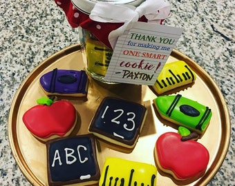 Teacher Appreciation Cookie Jar