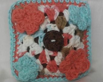 Granny Square Pin Cushion
