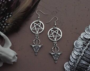 occult tribe-earrings