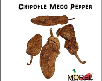 Dried Chipotle Meco Chili Peppers // Weights: 4 Oz, 8 Oz, 12 Oz, & 1 Lb!!